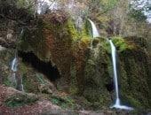 """Der Wasserfall """"Dreimühlen"""" bei Nohn in der Vulkaneifel."""