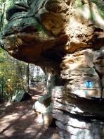 Deutsch-Luxemburgischer Felsenweg bei Bollendorf