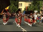 Dudeldorfer Lion Pipes beim Folklore Festival Bitburg