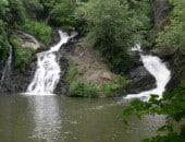 Elz-Wasserfall im Frühling<br />