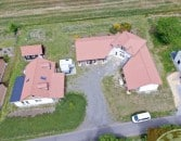 Exklusives Landhaus mit eigenem Gästehaus in Rohbau in sehr schöner ländlicher Lage