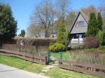 Ferienhaus Wilden, 850 m² eingezäunt für Ihren Hund
