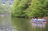 Floßbau im Kurpark Bernkastel - Kues
