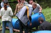 Floßbau in der Eifel