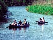 Kanufahren auf den Bächen und Flüssen der Eifel