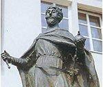 König Zwentibold Statue
