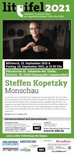 "LIT.EIFEL-LESUNG ""Monschau"" mit Steffen Kopetzky"