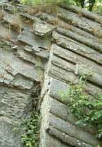 Mullion-Struktur-Felsen