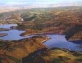 Rursee Panoramabild