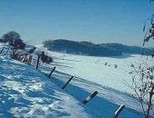 Schneelandschaft in Wallersheim