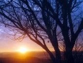 Sonnenuntergang bei Pronsfeld