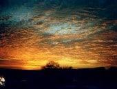 Sonnenuntergang in Malberg