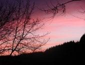 Sonnenuntergang über dem Pichterberg