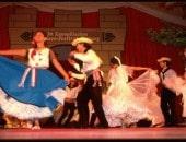 Tanzgruppe beim Folklore Festival in Bitburg