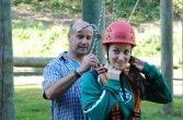 Teambuilding, Action und Spaß - Der Seilgarten mit Hoch- und Niedrigelementen