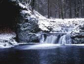 Winter am Getzbach im Hohen Venn