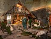 Wundersschöne Krippen gibt es in der Eifel: Eine faszinierende Krippe wird jedes Jahr in Waxweiler aufgebaut.