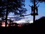 Zipline-Tour & Adventure-Minigolf by NIGHT
